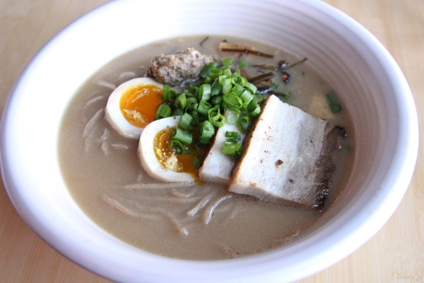 Photo of Tanaka-San's ramen -- or is that Wramen? -- courtesy of Jay Friedman of gastrolust.com.