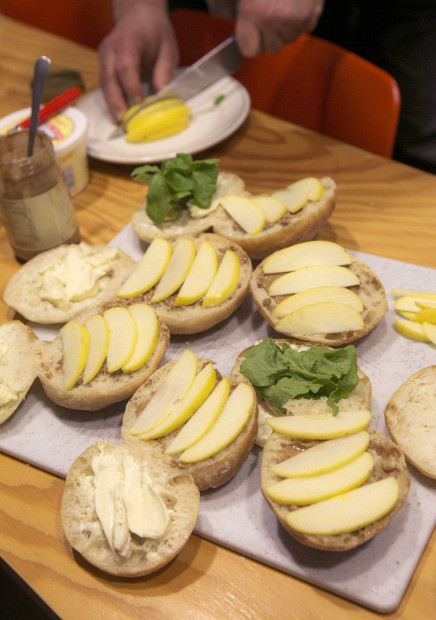 Peter Miler's sandwiches. Photo by Bettina Hansen/The Seattle Times