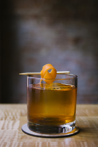 The Calvados Old Fashioned is featured at the Pioneer Square bar Damn the Weather. Photo courtesy of Eleanor Lonardo