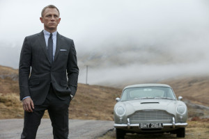 """Skyfall"" plays at two outdoor movie series on Saturday night. AP Photo/Sony Pictures, Francois Duhamel."