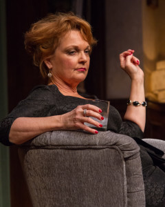 "Pamela Reed in Seattle Repertory Theatre's production of ""Who's Afraid of Virginia Woolf?""/Alabastro Photography"