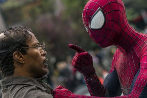 """The Amazing Spider-Man 2,"" photo by Niko Tavernise/AP."