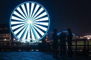 The Great Wheel looking ... great. Photo by Lindsey Wasson/The Seattle Times.