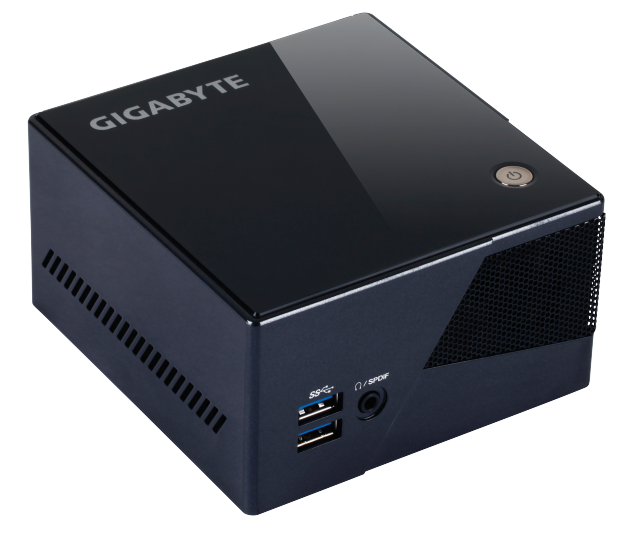A palm-sized Steam Machine from Gigabyte. Image from Valve.