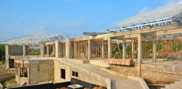 Ashesi's engineering school that's now under construction. Ashesi image.