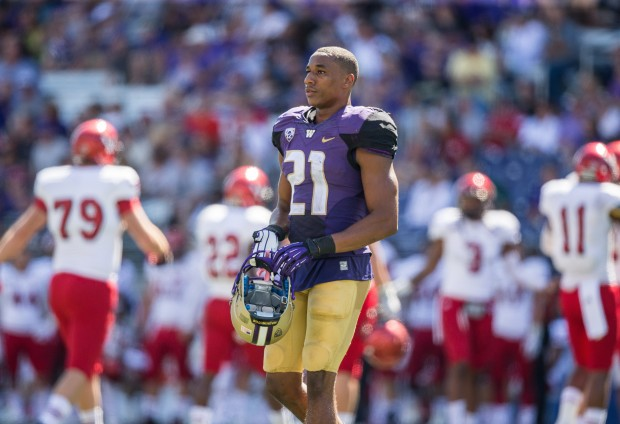 Marcus Peters was dismissed from the UW program on Nov. 6. (Dean Rutz/The Seattle Times)