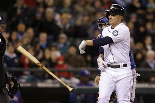 Kyle Seager has had a rough start hitting-wise, but started to pick things up over the weekend against the Texas Rangers. Photo Credit: AP