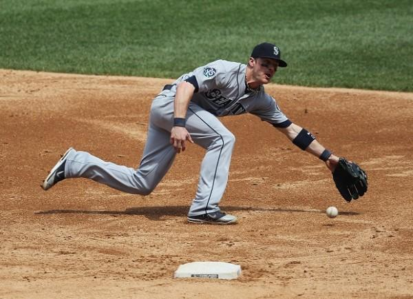 Brendan Ryan was one of the best infield gloves the Mariners have ever had wear their uniform. But he was traded to the Yankees largely because his bat just couldn't match his defense. Photo Credit: AP