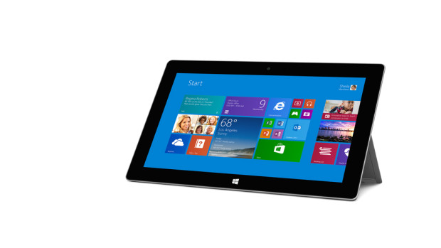 Surface 2 tablet (Photo from Microsoft)