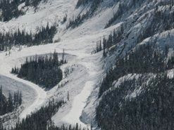 The hairpin curves on the North Cascades Highway near Washington Pass. (WSDOT photo)