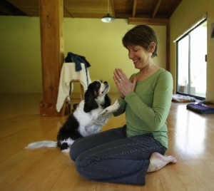 Get centered at The Yoga Lodge on Whidbey Island. (photo by Mark Harrison/The Seattle Times)