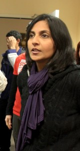 Kshama Sawant (Greg Gilbert / The Seattle Times)