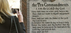 Ten Commandments (AP Photo/The Oklahoman, Jim Beckel)