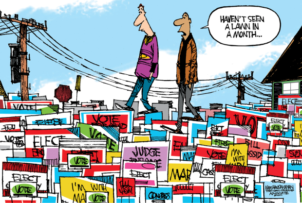 Walt Handelsman / The New Orleans Advocate