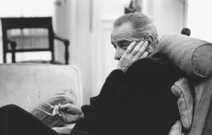 Lyndon B. Johnson was a man of great ambition, bold vision and stark contradictions. (L.B.J. Library)