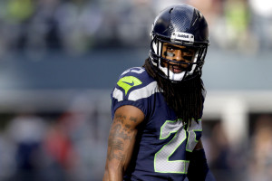 Richard Sherman showed us a side of football we don't want to see.  Bettina Hansen / Seattle Times staff