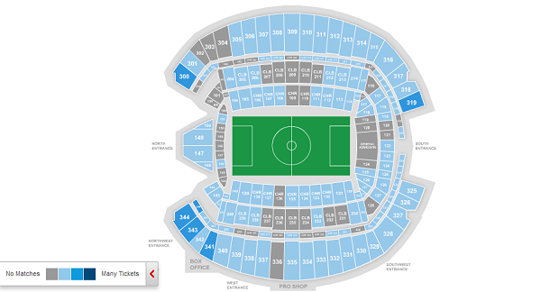 Screen grab from Ticketmaster.com