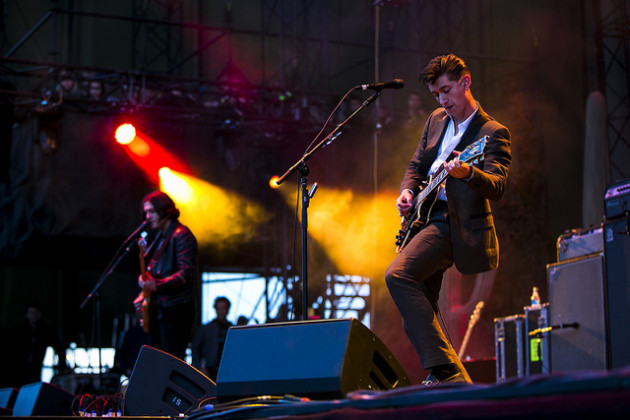 The Arctic Monkeys (photo by Christopher Nelson/courtesy of Sasquatch!)