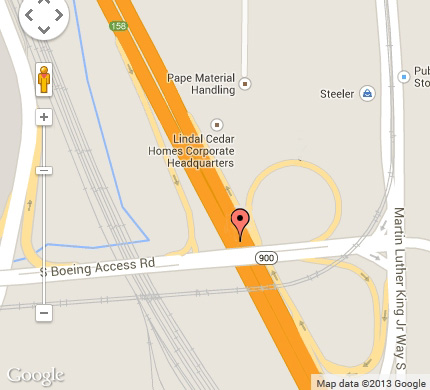 King 5 Traffic Map.Baby Delivery Scare Snarls Traffic On I 5 Near Boeing Field The