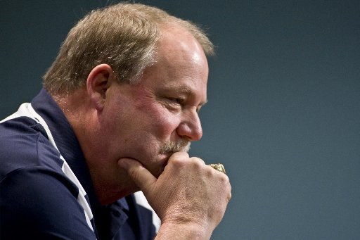 Mike Holmgren, December 2008. (Photo by Associated Press.)