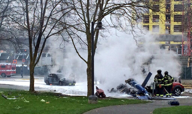 helicopter crash seattle